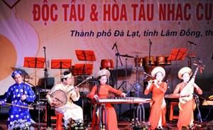 Thi độc tấu và hòa tấu nhạc cụ dân tộc toàn quốc 2020