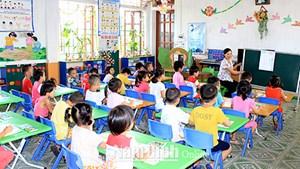 Nâng cao chất lượng giáo dục mầm non