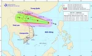 Bão số 7 giật cấp 10, cách quần đảo Hoàng Sa khoảng 430 km