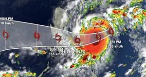 Chuyên gia khí tượng đánh giá cường độ bão Goni khi vào Việt Nam