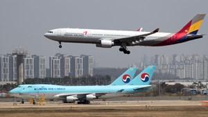 Hàn Quốc: Korean Air thông báo mua lại Asiana Airlines