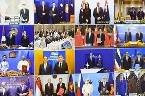 Thỏa thuận thương mại lớn nhất thế giới được ký kết