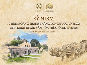 Tôn vinh di sản tại Hoàng thành Thăng Long