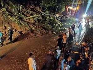 Lở đất do mưa lớn ở Colombia, nhiều người thiệt mạng và mất tích