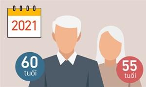 Quy định về tuổi nghỉ hưu thay đổi thế nào từ 1/1/2021?
