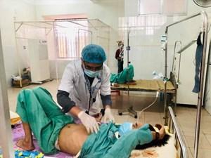 Bệnh viện đa khoa Quảng Nam điều trị 10 ca bệnh Whitmore