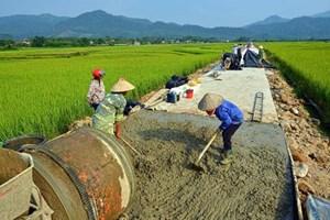 Vĩnh Phúc: 100% xã đạt chuẩn nông thôn mới