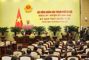 Hà Nội: Nỗ lực giải quyết vấn đề dân sinh bức xúc