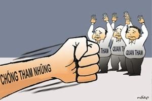 Sức nóng cuộc chiến chống tham nhũng