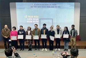 Trao giải LHP ngắn 2020 dành cho cựu học sinh, sinh viên