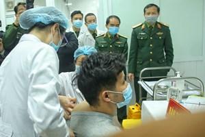 Bắt đầu tiêm thử nghiệm vaccine ngừa Covid-19 của Việt Nam