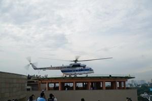 Sân bay cấp cứu bằng trực thăng đầu tiên tại TP Hồ Chí Minh