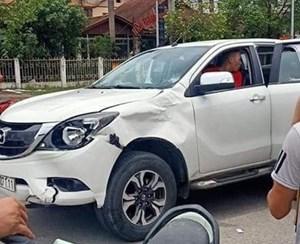 Lào Cai: Khởi tố vụ xe bán tải vượt đèn đỏ đâm tử vong 1 phụ nữ