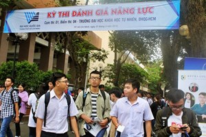 Hơn 63 nghìn thí sinh đăng ký thi đánh giá năng lực của ĐH Quốc gia TP HCM