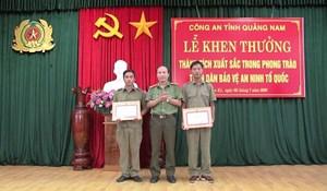 Quảng Nam: Khen thưởng người tố giác nơi Triệu Quân Sự lẩn trốn