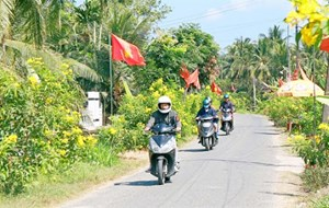 Vĩnh Long: 6 xã về đích nông thôn mới