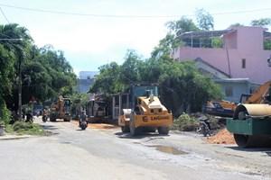 Quảng Nam: Dự án hàng chục tỷ đồng chưa bồi thường đã thi công