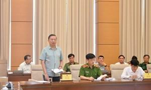 Bộ Công an đề xuất đưa 2 luật vào chương trình xây dựng luật