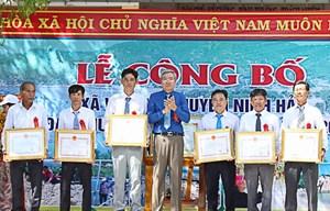 Ninh Thuận: Công nhận xã Vĩnh Hải đạt chuẩn nông thôn mới 2020