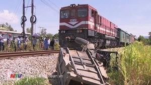Nghệ An: Băng qua đường sắt, một phụ nữ bị tàu đâm tử vong