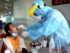 1.200 mẫu xét nghiệm hành khách từ Đà Nẵng về Cần Thơ đều âm tính