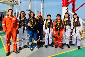 Lô 114 - Điểm sáng trong hoạt động tìm kiếm thăm dò ngoài khơi thềm lục địa