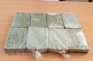 Điện Biên: Bắt giữ đối tượng mua bán trái phép 8 bánh heroin