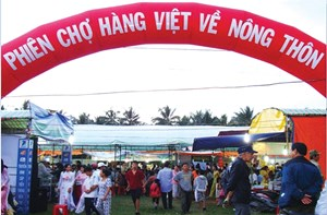 Ninh Thuận: Tổ chức đưa 75 chuyến hàng Việt về nông thôn