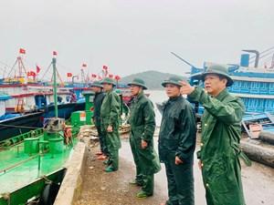 Nghệ An: Sẵn sàng phương án di dời hơn 18.000 người tránh bão số 2