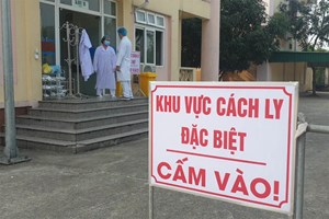 Nghệ An: Nữ giáo viên nước ngoài về từ Đà Nẵng bị ho, khó thở
