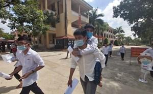 Thanh Hóa: Hình ảnh đẹp ngày thi tốt nghiệp THPT đầu tiên