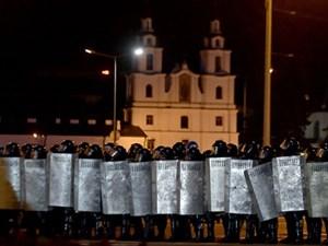 Belarus: Nổ lớn ở trung tâm thủ đô Minsk sau kết thúc bỏ phiếu