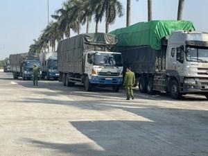 Bắt giữ 300 tấn hàng nhập lậu đưa về Hà Nội tiêu thụ