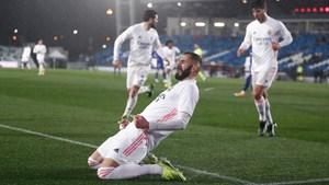 Benzema tỏa sáng, Real Madrid đánh bại Getafe bằng đội hình chắp vá