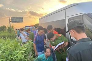 Xác định danh tính tài xế tông chết cảnh sát cơ động ở Bắc Giang