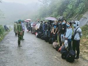 Phát hiện 80 công dân nhập cảnh trái phép ở Hà Giang