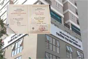 Bộ GDĐT lên tiếng về sai phạm tại trường Đại học Đông Đô