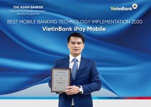 VietinBank là ngân hàng duy nhất được The Asian Banker trao giải