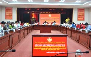 Thành phố Sông Công (Thái Nguyên): Lập danh sách sơ bộ những người ứng cử đại biểu HĐND