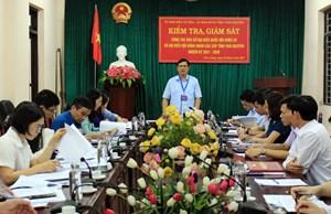 Thái Nguyên: Kiểm tra, giám sát công tác chuẩn bị bầu cử