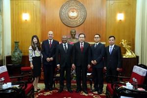 Tăng cường kết nối giao lưu hai nước Việt Nam – Nam Phi
