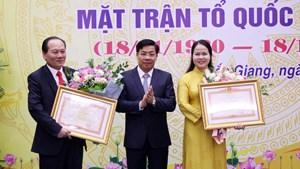 Bắc Giang: Gặp mặt nhân 90 năm Ngày truyền thống MTTQ Việt Nam