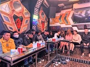 Phát hiện 13 đối tượng sử dụng ma túy tại quán karaoke ở Hải Dương