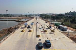 Quảng Ninh: Chính thức vận hành trạm thu phí cao tốc Hạ Long – Vân Đồn tại nút giao Việt Hưng