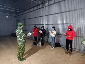 Quảng Ninh: Bắt giữ 4 đối tượng nhập cảnh trái phép qua biên giới