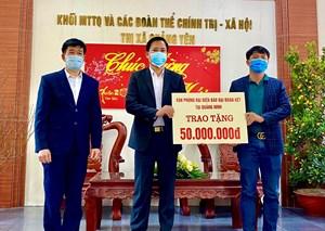 Báo Đại Đoàn Kết: Trao tặng thị xã Quảng Yên 100 suất quà Tết
