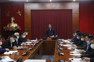 Hải Phòng: Hỗ trợ Hải Dương 500.000 khẩu trang và 5 tỷ đồng chống dịch