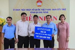 Quảng Ninh ủng hộ 12 tỷ đồng cho các tỉnh khắc phục hậu quả mưa lũ