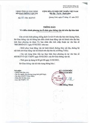 Quảng Ninh khôi phục hoạt động vận tải hành khách nội địa