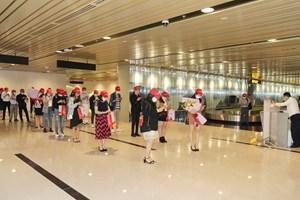Những chuyến bay đầu tiên tới sân bay Vân Đồn sau hơn 1 tháng đóng cửa
